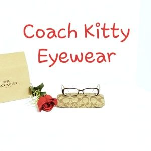 👓 💯 Authentic Coach Kitty 2016 Eyewear 👓